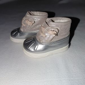 Sperry Boots- Baby Shoes- Blush Size1